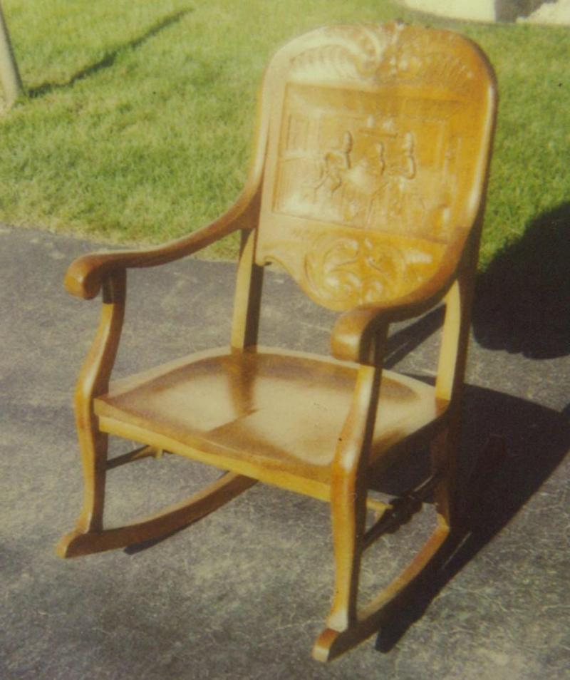 Restored Rocking Chair.